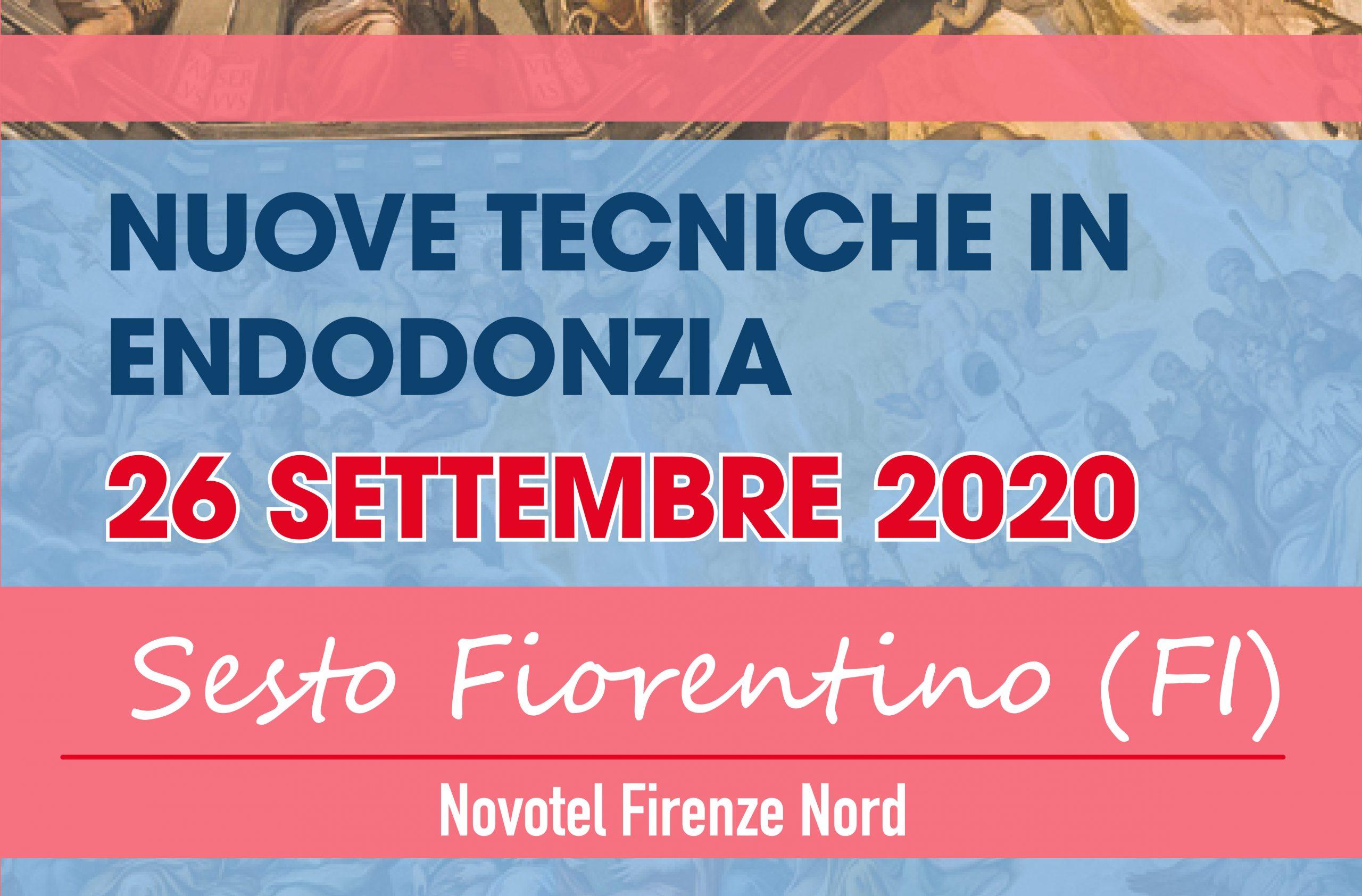 """""""Nuove tecniche in endodonzia"""" - sabato 26 settembre - Firenze"""