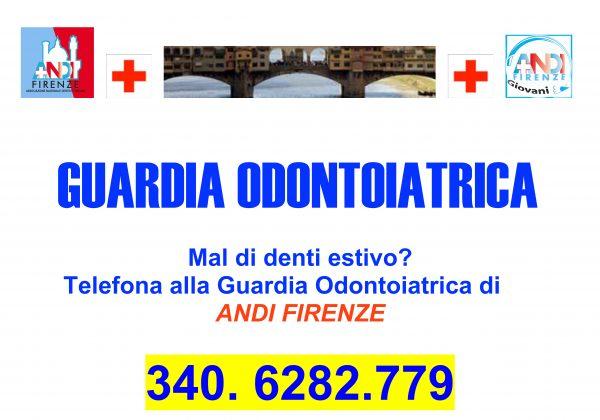 Guardia Odontoiatrica estiva ANDI Firenze